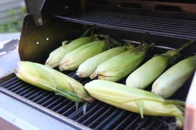 How to Grill Corn in the Husks. YES! so over husking! especially for large groups.