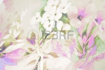 soft floral seamless patterns: Fabric silk pale pink with white flowers.  Flower Fabric background,  Fragment of colorful retro tapestry textile pattern with floral ornament useful as background