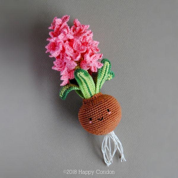 Amigurumi Sunflower Free Crochet Pattern | 600x600
