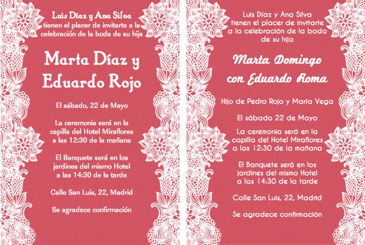 Invitations In Spanish For Wedding: Top 25 Ideas About Invitations In Spanish On Pinterest