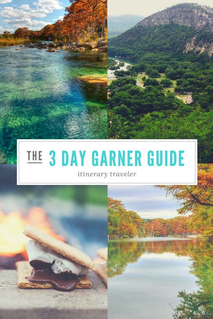 Prepare for the best camping experience with this weekend guide for Garner State Park