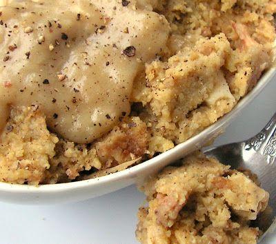 Mangio da Sola: Crockpot Chicken and Dressing