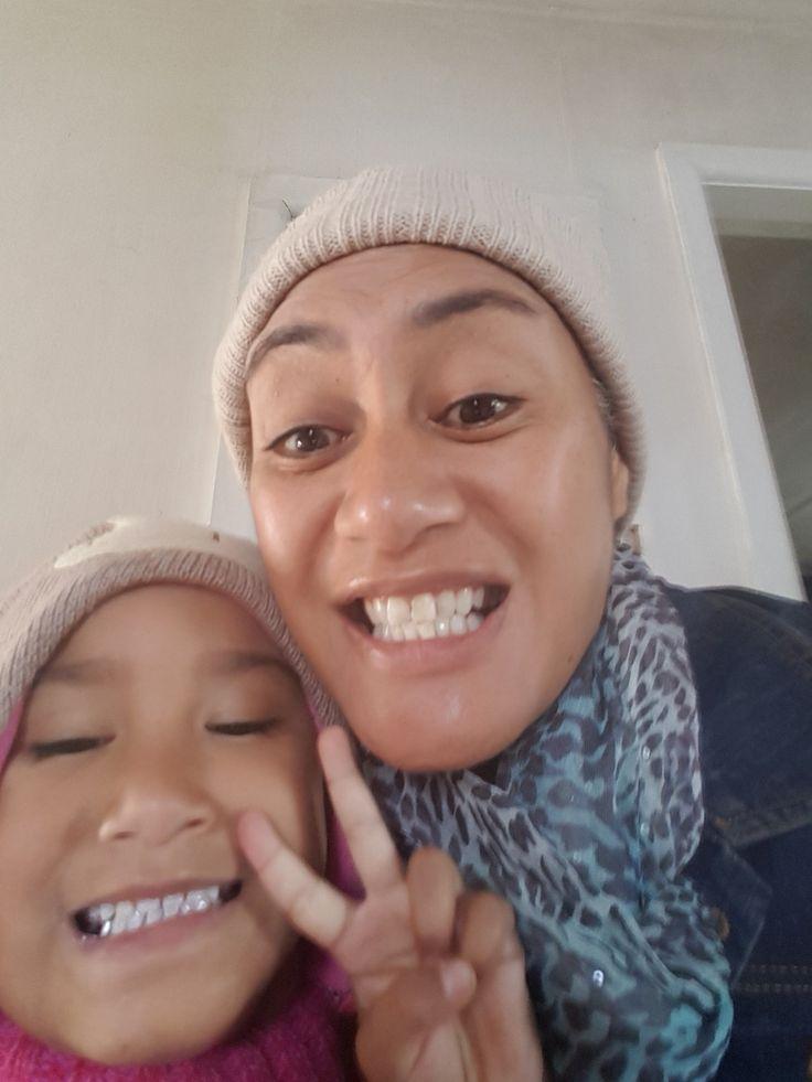 Selfie Or Scary 🤣😂😂😆🤣I Shud of left it 2 da kud ❤✌❤