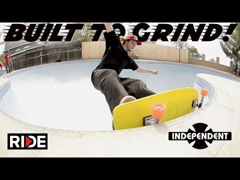 cool Built To Grind with Omar Hassan, Willis Kimbel & John Lucero - Independent Trucks Ep. 2