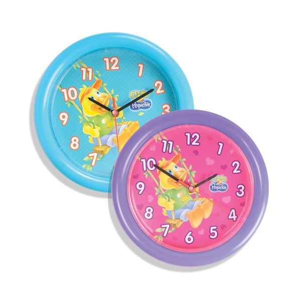 Relojes de pared Pequeñín Diametro 26 cms Puntos : 580 c/u