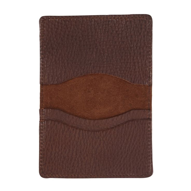 Sarah Baily | Travel card wallet - Brown leather