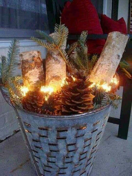 Christmas outside decor