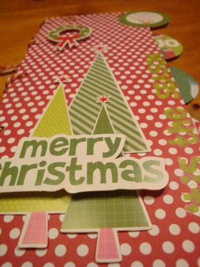 Merry Christmas  Mint Twist collectie Kaisercraft