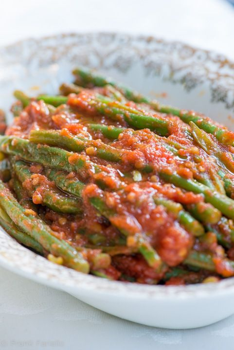 25 best side dishes images on pinterest italian food recipes authentic italian recipes fagiolini in umido green beans in tomato sauce forumfinder Gallery
