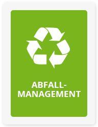 Green Events - ABFALLMANAGEMENT  Abfall zählt zu den sichtbarsten Problemen einer jeden Veranstaltung. Durch ein gut durchdachtes Beschaffungs- und Abfallkonzept lassen wir Müll erst gar nicht entstehen. Bis zu 90 % des Abfalls können durch die Verwendung von Mehrwegverpackungen, Großgebinden und papierloser Kommunikation vermieden werden. Alle nicht vermeidbaren Abfälle werden durch eine getrennte Entsorgung recycelt.