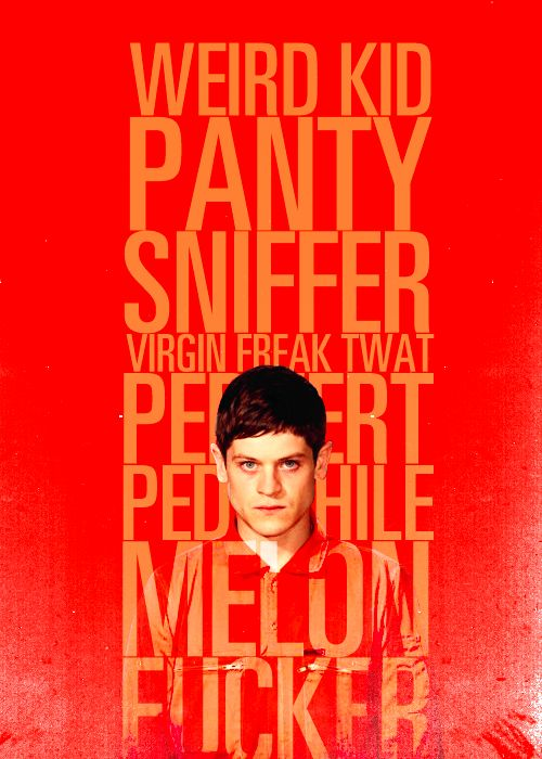 "Misfits - Panty Sniffer |Simon/Iwan|#2:Because he ""is a dream to have on set, great actor and a really lovely guy."" - Fan Forum"