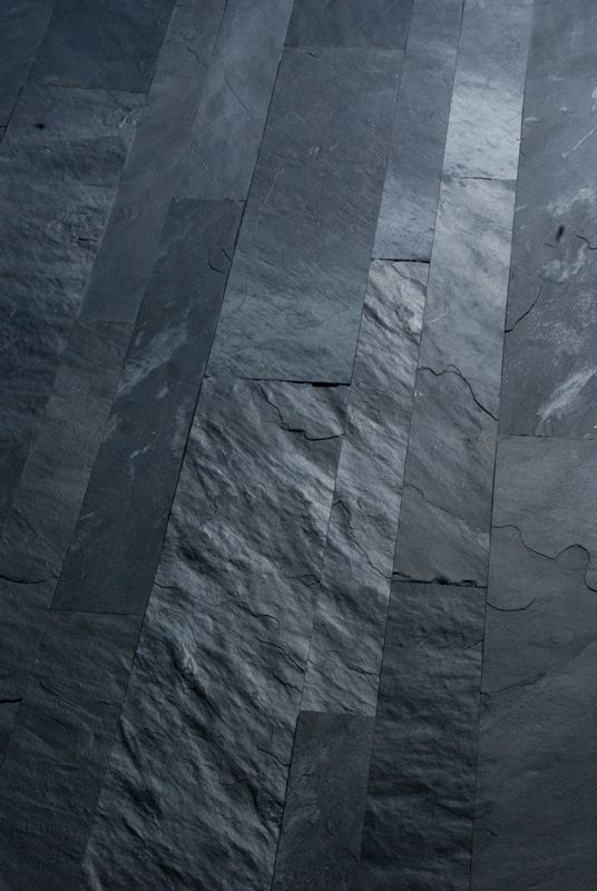 I love these textured slate tiles as they are different to just smooth flooring and can add depth to a simple space.