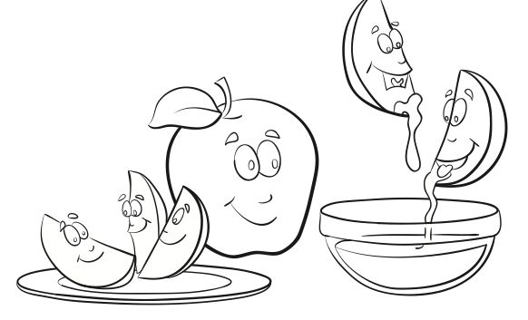 Free Rosh Hashana Coloring Pages