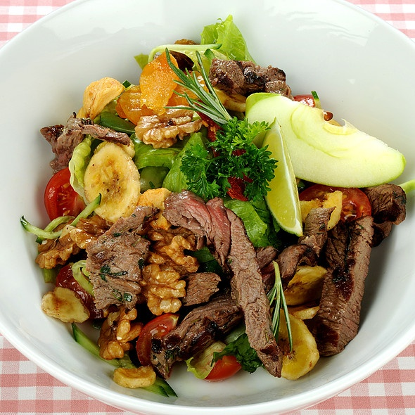 beef and dried fruit salad @ Cafe Mese