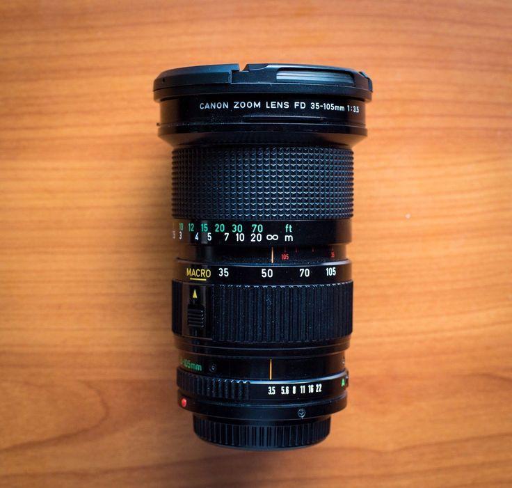Canon Fd 35 105mm F 3 5 Fd Lens Lens Canon Canon Camera