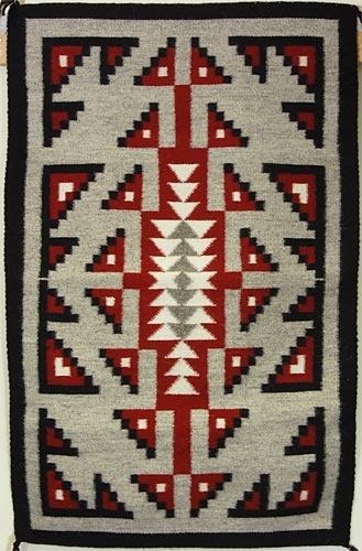 Ganado/Two Grey Hills Rug by Linda Norcross (Navajo)