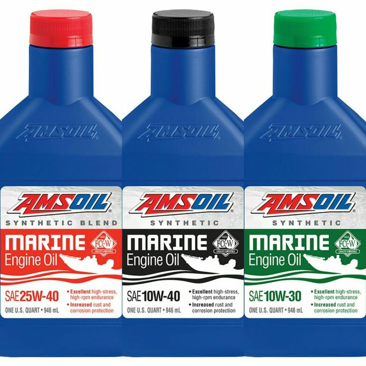 Engine Performance And Reliability Are Key To A Successful Day Fishing Or Boating High Rpm Operation And Constant Exposure To Wate Amsoil Synthetic Oil Wausau