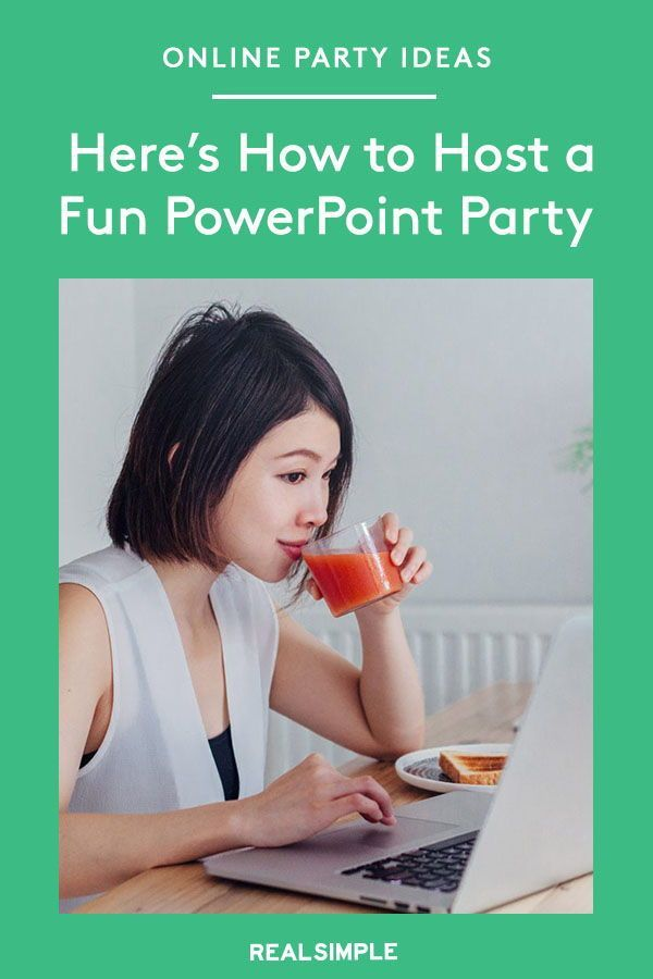 Powerpoint Parties Are The Socially Distant Party Trend You Have To Try Here S How To Host One Party Trends Party Powerpoint