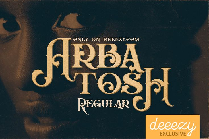 Arbatosh Regular Font | Deeezy - Freebies with Extended License