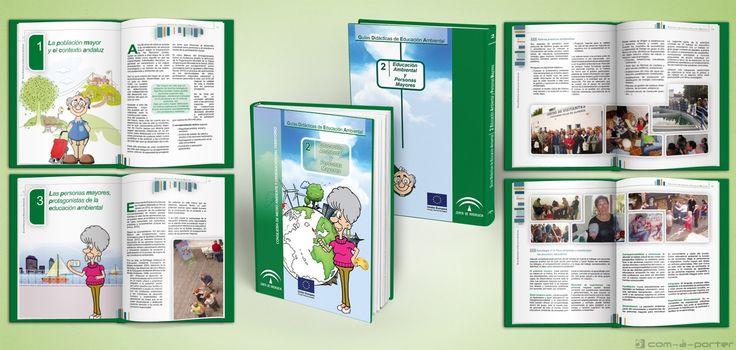 Maquetación del libro II de la colección Guías Didácticas de Educación Ambiental