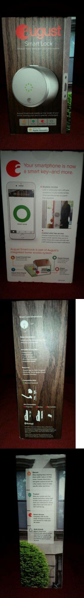 Door Locks and Lock Mechanisms 180966: August Smart Lock Keyless Home Entry W Apple Homekit – Silver - Version 2 -> BUY IT NOW ONLY: $139.99 on eBay!