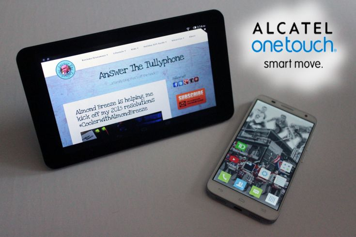 Review of the Alcatel OneTouch Pop 7 tablet and Idol 2 S Smart phone.