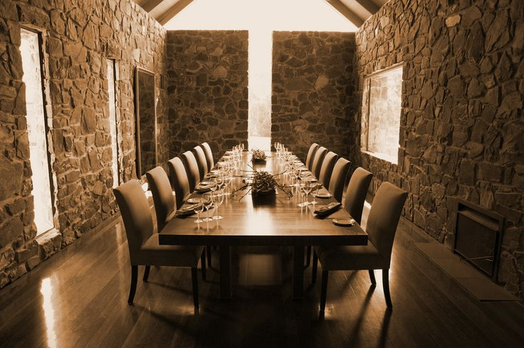 Private dining room @ Yering Station - Historic Barn