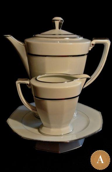 Кофейный сервиз «Ар-Деко». Франция, 1920-1930 годы.