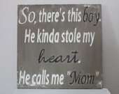 Love this: Wall Art,  Dust Jackets, Books Jackets, Quote, Boys Rooms, Baby Boys, Wood Wall, Little Boys, Love My Boys
