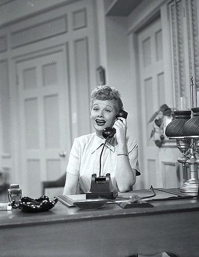"""""""Hi Carolyn, It's Lucy"""" 