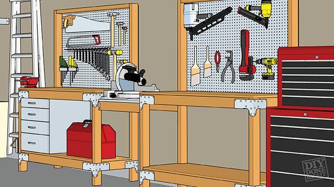 Heavy-Duty Workbench | DIY Done Right