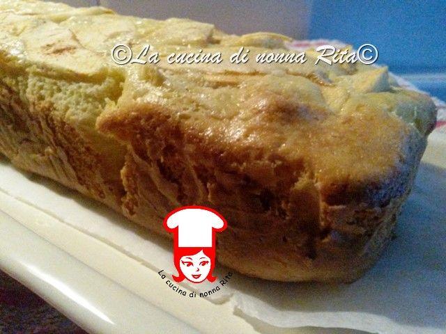 Il plumcake di mele di nonna Rita è un dessert ottimo da servire come prima colazione o per una merenda sana e genuina, tipica delle nonne ...
