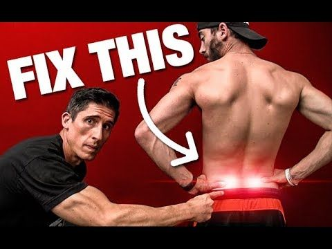 """How to Fix """"Low Back"""" Pain (INSTANTLY!) - YouTube"""