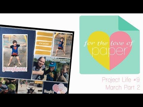 Check out my new video: Project Life Process Video ~ #9 ~ March Part 2 :) https://youtube.com/watch?v=Cu8W6wCpgKw