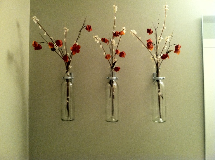 bathroom wall decoration would be excellent with essential oil inside - Pinterest Wall Decor
