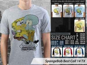 Kaos Spongebob Couple Family, Kaos Spongebob Krabby Patty