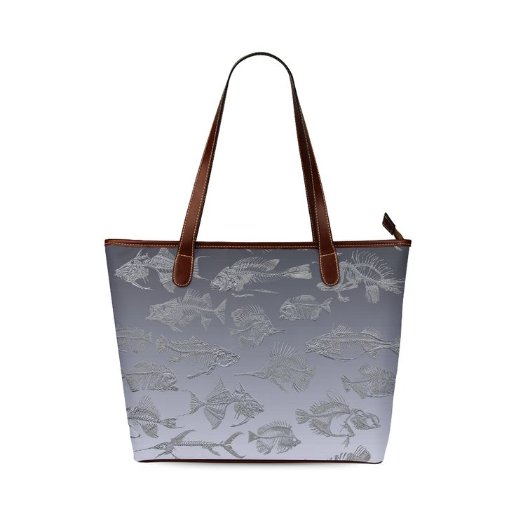 GREY FISH Shoulder Tote Bag (Model 1646) Designed by Krydy $ 40 #ootd #outfitoftheday #lookoftheday #TagsForLikes #TFLers #fashion #fashiongram #style #love #beautiful #currentlywearing #lookbook #wiwt #whatiwore #whatiworetoday #ootdshare #outfit #clothes #wiw #mylook #fashionista #todayimwearing #instastyle #TagsForLikesApp #instafashion #outfitpost #fashionpost #todaysoutfit #fashiondiaries #cristinaguggeri #krydy #sneakerfreak #sneakerporn #shoeporn #fashion #swag #instagood #fresh…