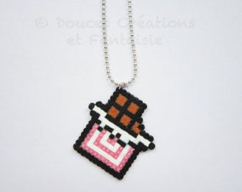 Kawaii Necklace cute Japanese jewelry sweet by DoucesCreations