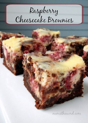 If you love raspberries & cheesecake, this recipe is for YOU! Raspberry Cheesecake Brownies are easy to make and taste amazing! A nice twist on a classic brownie!