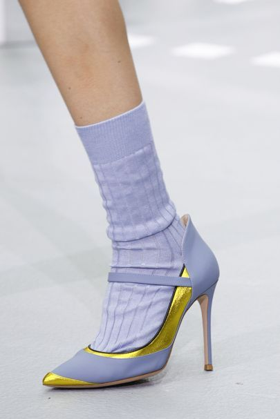 The best designer shoes and shoe trends from the Spring/Summer 2017 fashion…