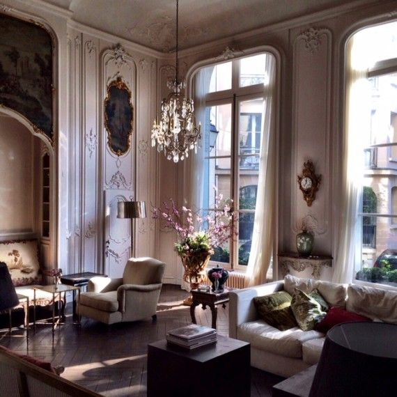 255 best parisian chic apartment interiors images on pinterest interior apartment ideas and. Black Bedroom Furniture Sets. Home Design Ideas