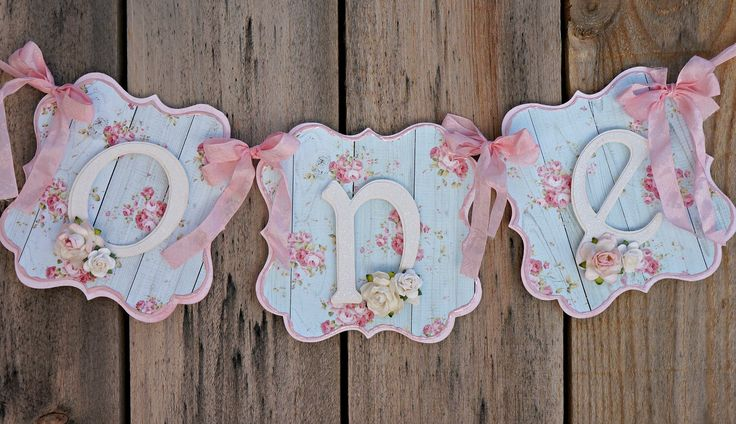 Shabby Chic High Chair Banner: Shabby Chic Birthday Party by MyBellaBirthdays on Etsy https://www.etsy.com/listing/235943450/shabby-chic-high-chair-banner-shabby