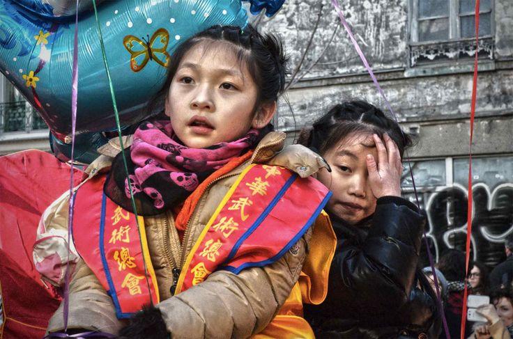 """""""Fillettes du 13ème"""" Nouvel an chinois Paris 13 - Bruno Sussi ©"""