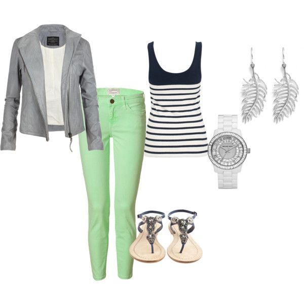 minty fresh: Mint Pants, Green Jeans, Color Jeans Cut, Color Combos, Fresh Jeans, Mint Color, Color Skinny, Spring Outfit, Green Pants