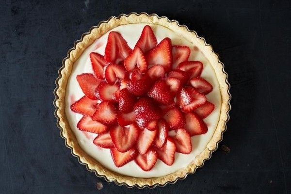 Strawberry-mascarpone tart from Food52 | Pies, Tarts, & Pastries | P ...