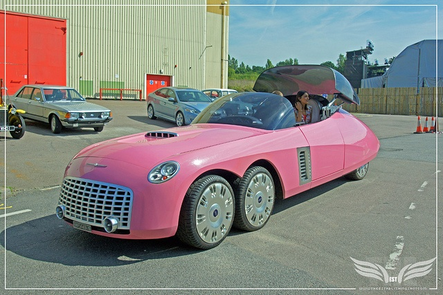 The Establishing Shot: Ford Centenary Tour - Lady Penelope's six-wheel Ford FAB1 from Thunderbirds 2004 at Elstree Studios by Craig Grobler, via Flickr