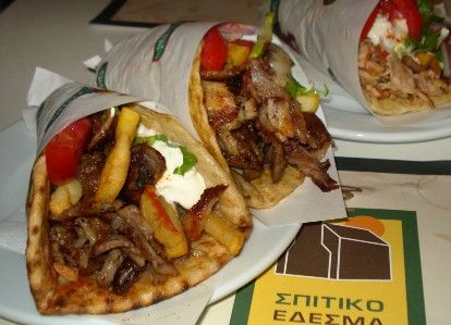 Most popular Greek Street Food to eat while staying in Thessaloniki