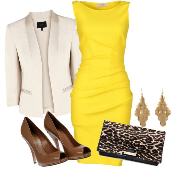 yellow n hite dress us