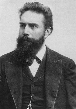 Wilhelm Conrad Röntgen (1845-1923) The first physicist to discover electromagnetic radiation AKA X-rays