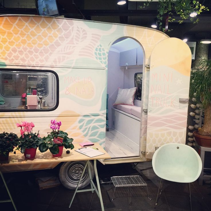 Mobile Nail Salon Los Angeles: 87 Best Images About Inspiration Beauty Truck On Pinterest